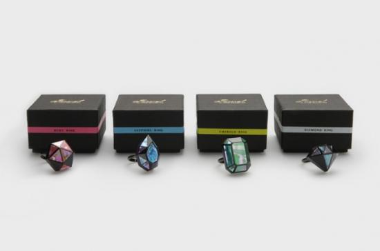 ジュエル螺鈿リング Jewel -3D RADEN COLLECTION-
