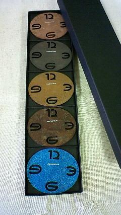 Oval Coaster(5色組)